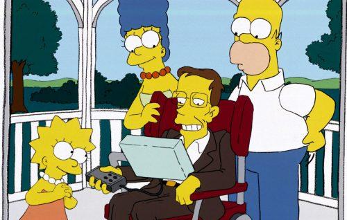 Stephen Hawking, un astrofisico a Springfield