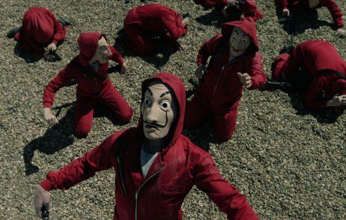 """""""La casa di carta"""" è una produzione Antena 3 distribuita da Netflix in tutto il mondo"""