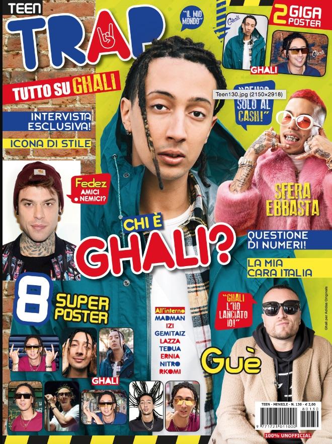 La copertina di Teen Trap
