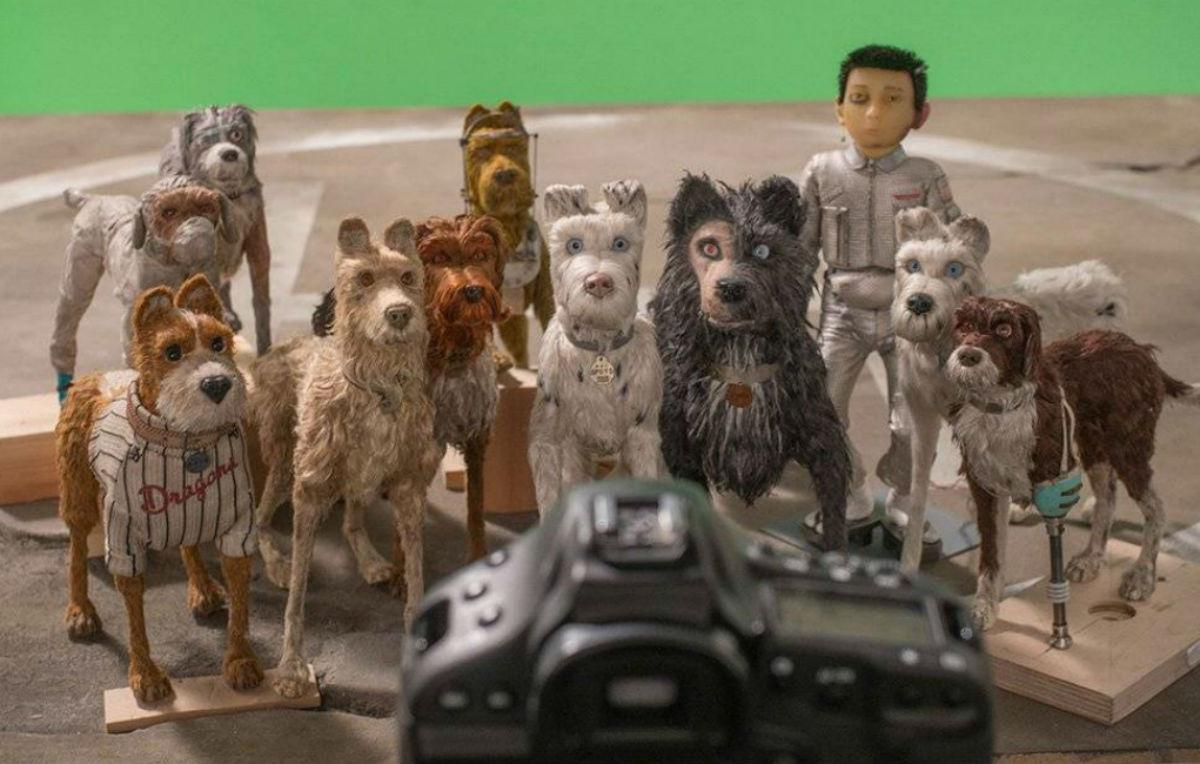 L'isola dei cani, il nuovo film in stop motion di Wes Anderson, è stato realizzato con 80 reflex Canon EOS-1D X - Foto di Ray Lewis, per gentile concessione di Fox Searchlight Pictures