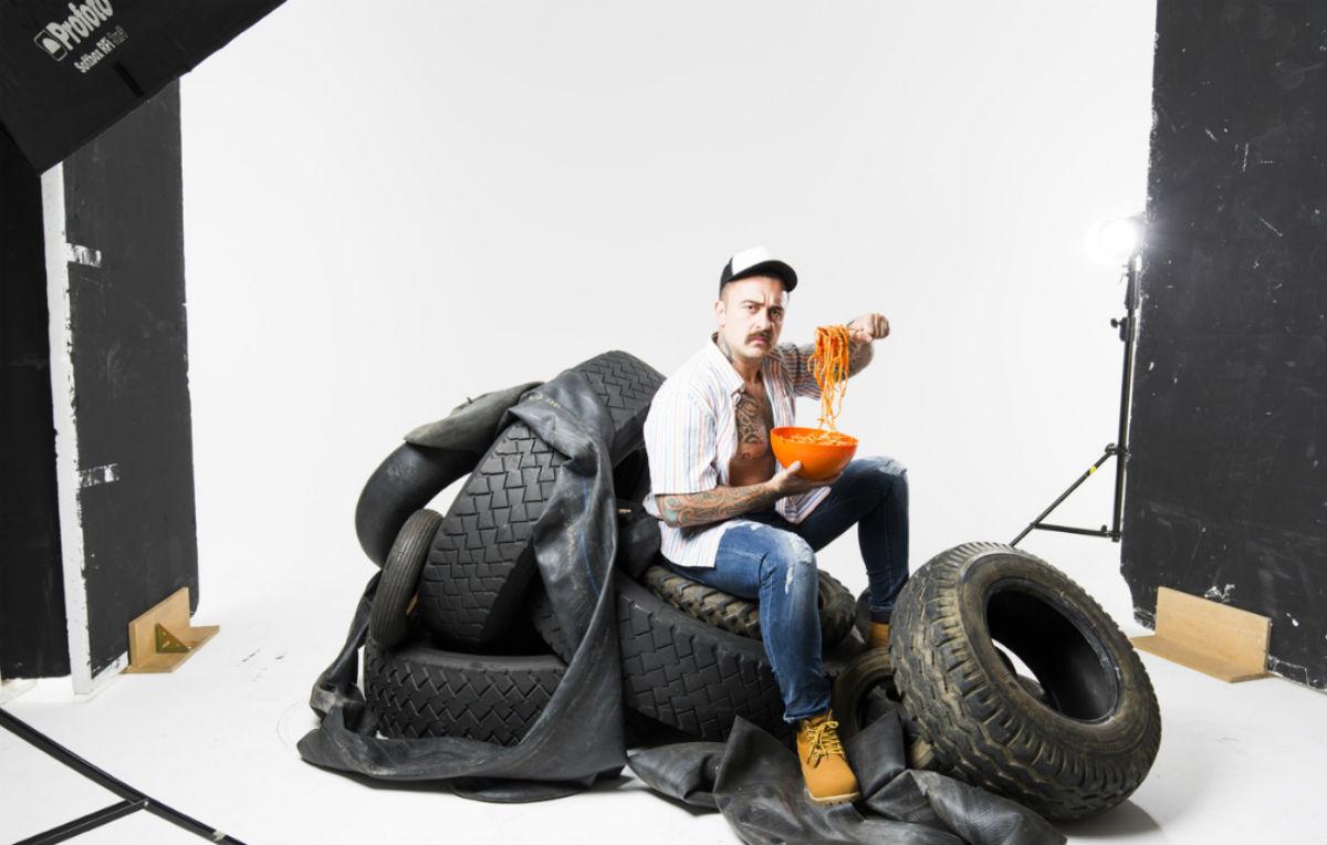 """Chef Rubio per """"Camionisti in trattoria"""" - Foto di Chiara Mirelli"""