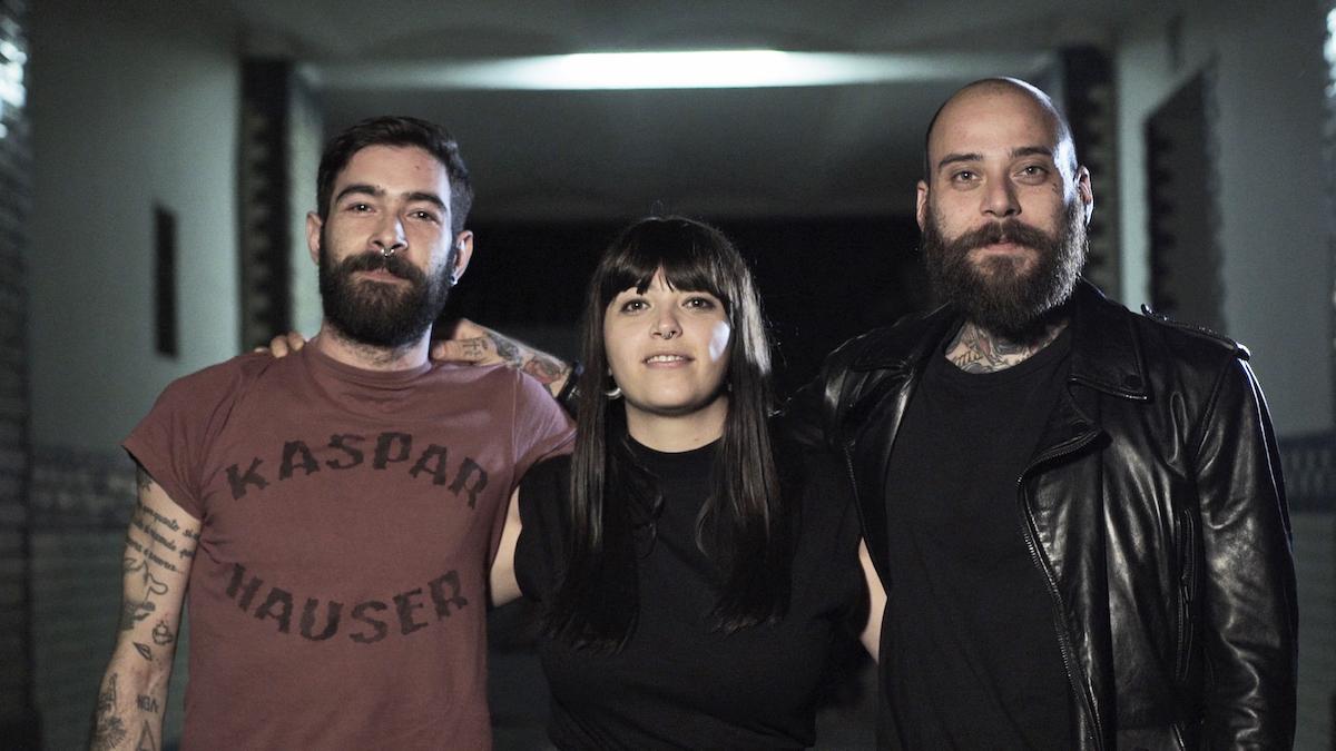 I tre finalisti, da sinistra: Produkkt, Keira e Stomp Boxx