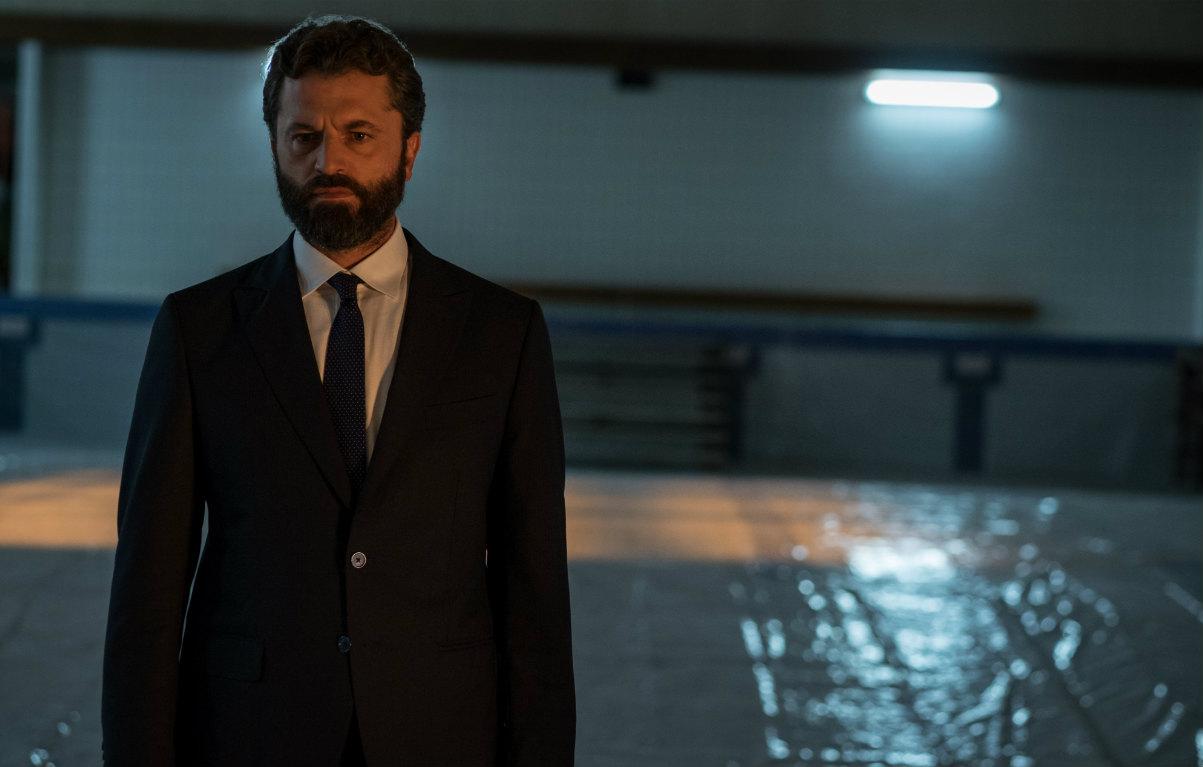 Guido Caprino in 'Il miracolo', la serie tv di Niccolò Ammaniti.
