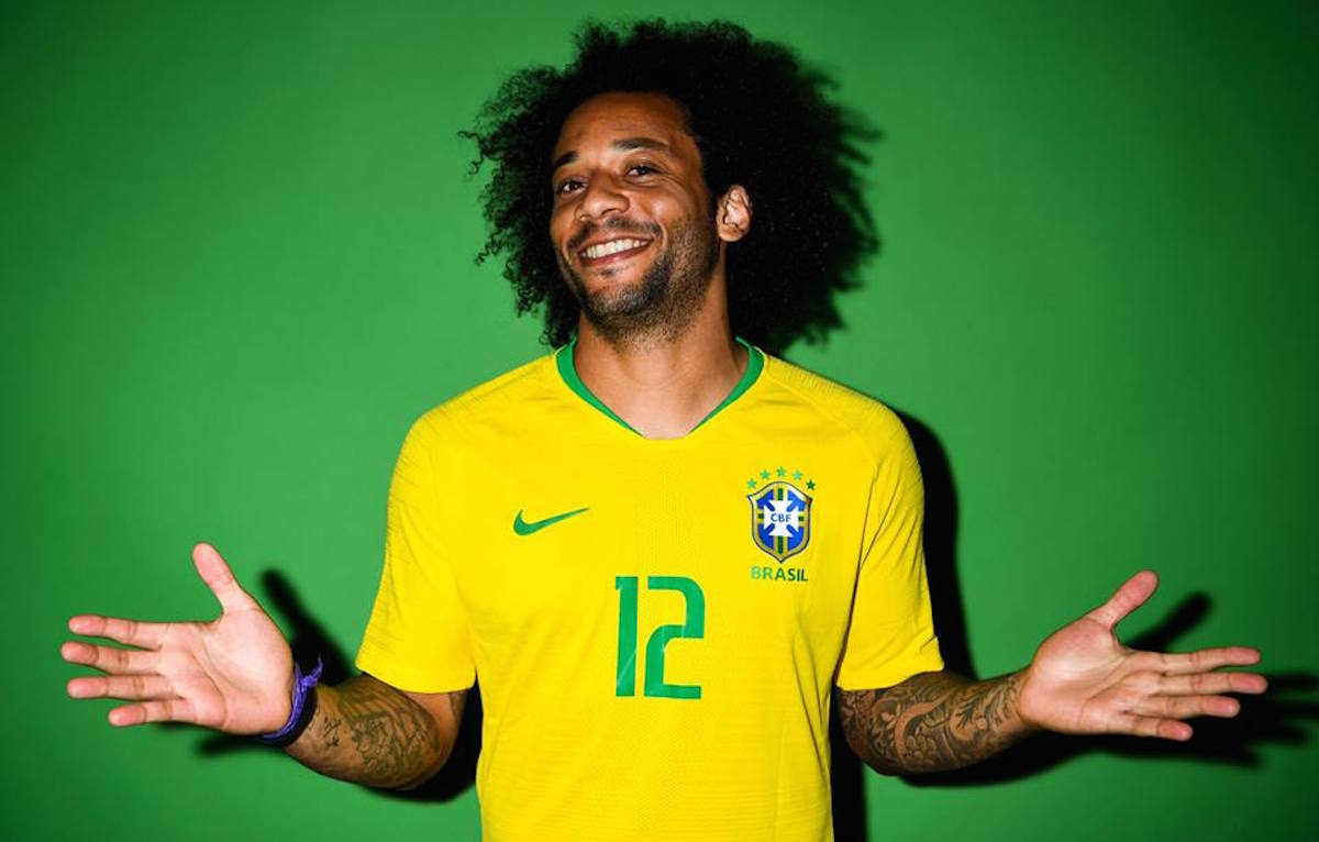 Marcelo, grandi gioie per il Brasile oggi