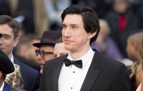 Adam Driver sul red carpet di Cannes 71. Credit: WENN / IPA.