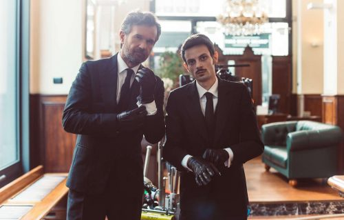 Rovazzi e Cracco sul set del video
