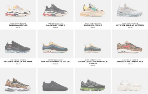 Avete mai voluto comprare una sneaker super limited? Noi sì.