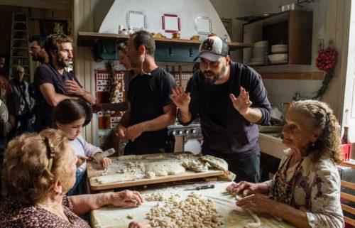 Marco D'Amore sul set di 'Gomorra 4'. Credit: Sky Italia, Gianni Fiorito.