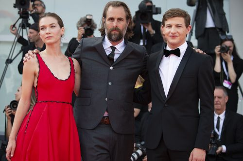 Il cast di The Mountain sul red carpet di Venezia 75 - Foto di Karen Di Paola.jpg