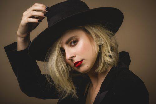 Eliza McNitt scattata in esclusiva per Rolling Stone da Fabrizio Cestari a Venezia 75. Make-up: Giorgio Armani Beauty.
