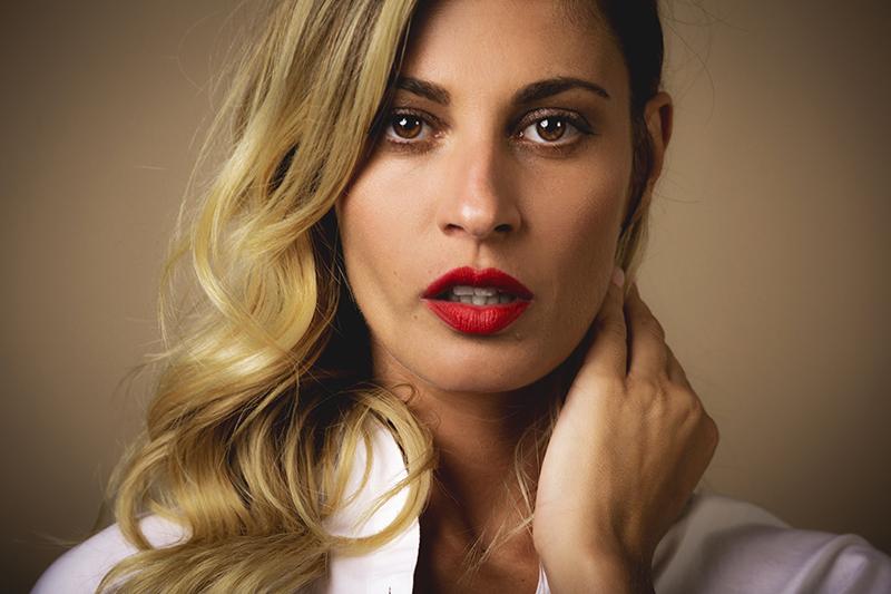 Sveva Alviti - Foto di Fabrizio Cestari - Make up Giorgio Armani Beauty