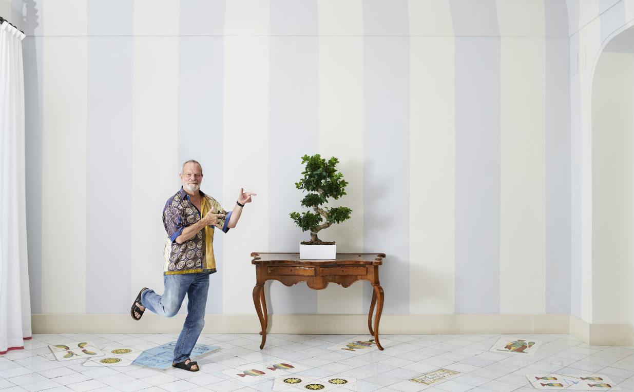 Terry Gilliam scattato in esclusiva per 'Rolling Stone' a Ischia da Alessandro Imbriaco.