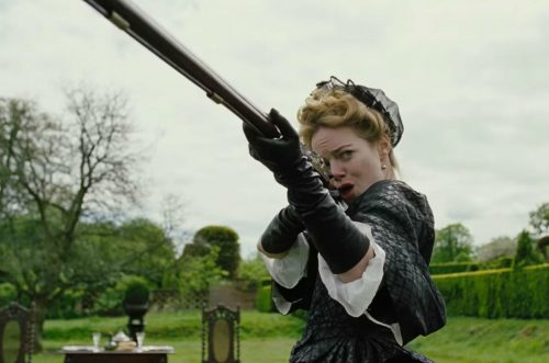 Emma Stone in 'The Favourite' interpreta Abigail.