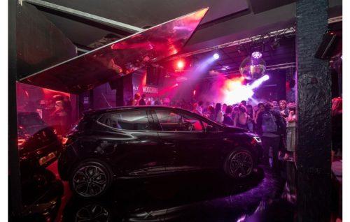 Il party di lancio della nuova Renault Clio Moschino