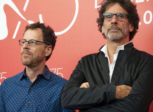 Ethan e Joel Coen al Lido per la 75ª Mostra del Cinema di Venezia. Foto di Karen Di Paola/Rockett.