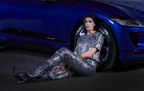 Dua Lipa e la nuova Jaguar I-PACE