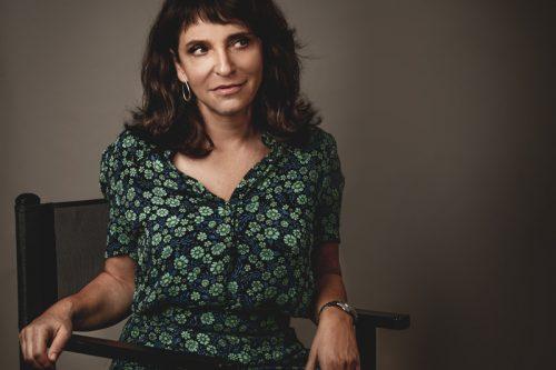 Susanne Bier scattata in esclusiva per Rolling Stone da Fabrizio Cestari a Venezia 75. Make-up: Giorgio Armani Beauty.