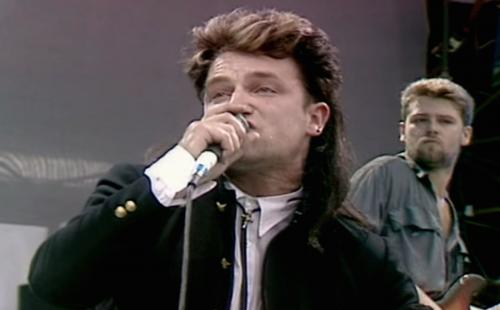 U2 al Live Aid 1985