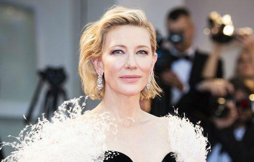 Cate Blanchett a Venezia per la 75ª Mostra del CInema - Foto di Karen Di Paola - Make up Giorgio Armani Beauty