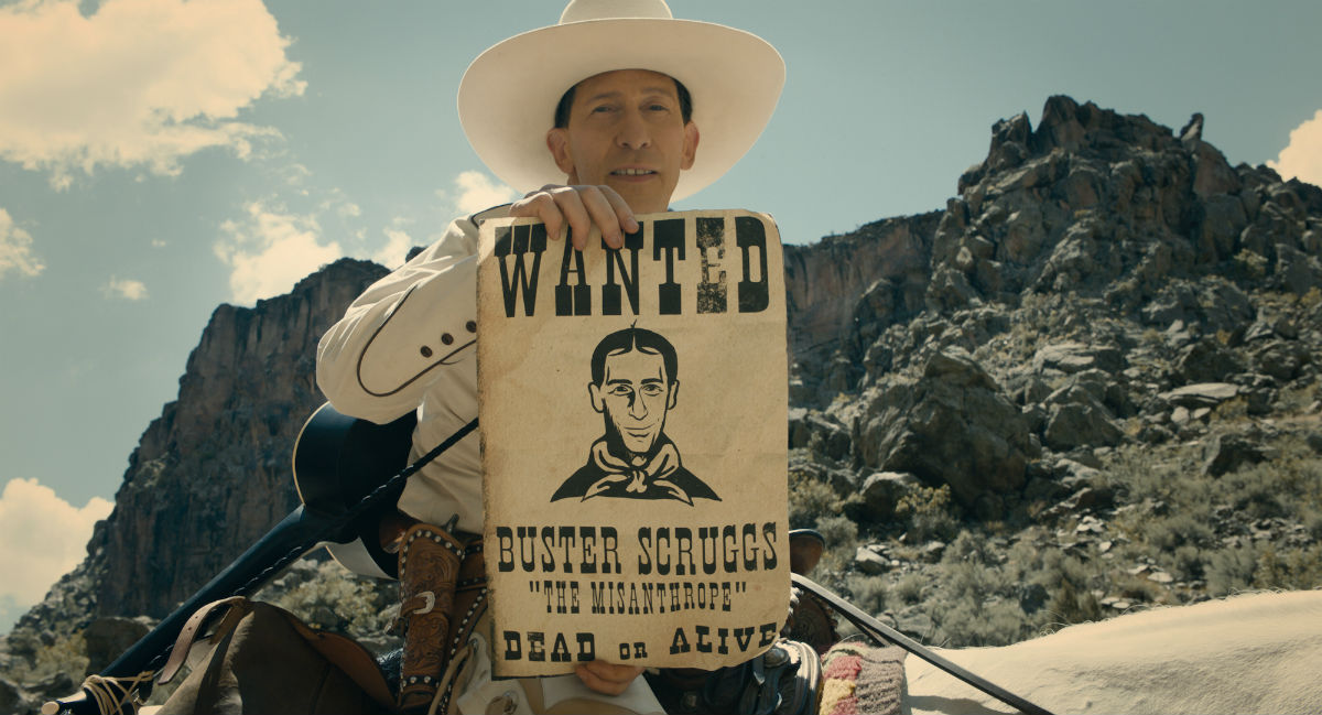 Tim Blake Nelson in 'The Ballad of Buster Scruggs'.