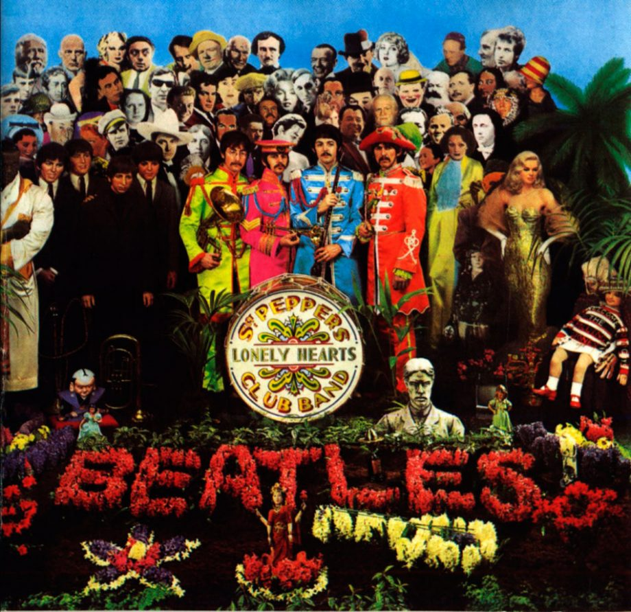 """La copertina di """"Sgt. Pepper's"""""""
