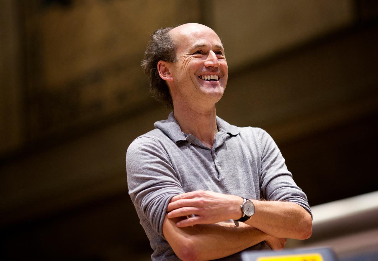 Peter Rundel. Foto di Astrid Ackermann