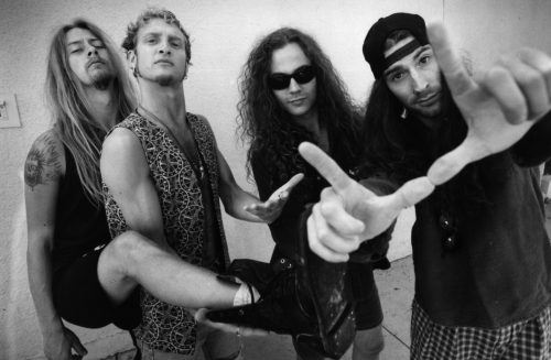 Gli Alice In Chains negli anni 90. Foto: Al Seib/Los Angeles Times via Getty Images