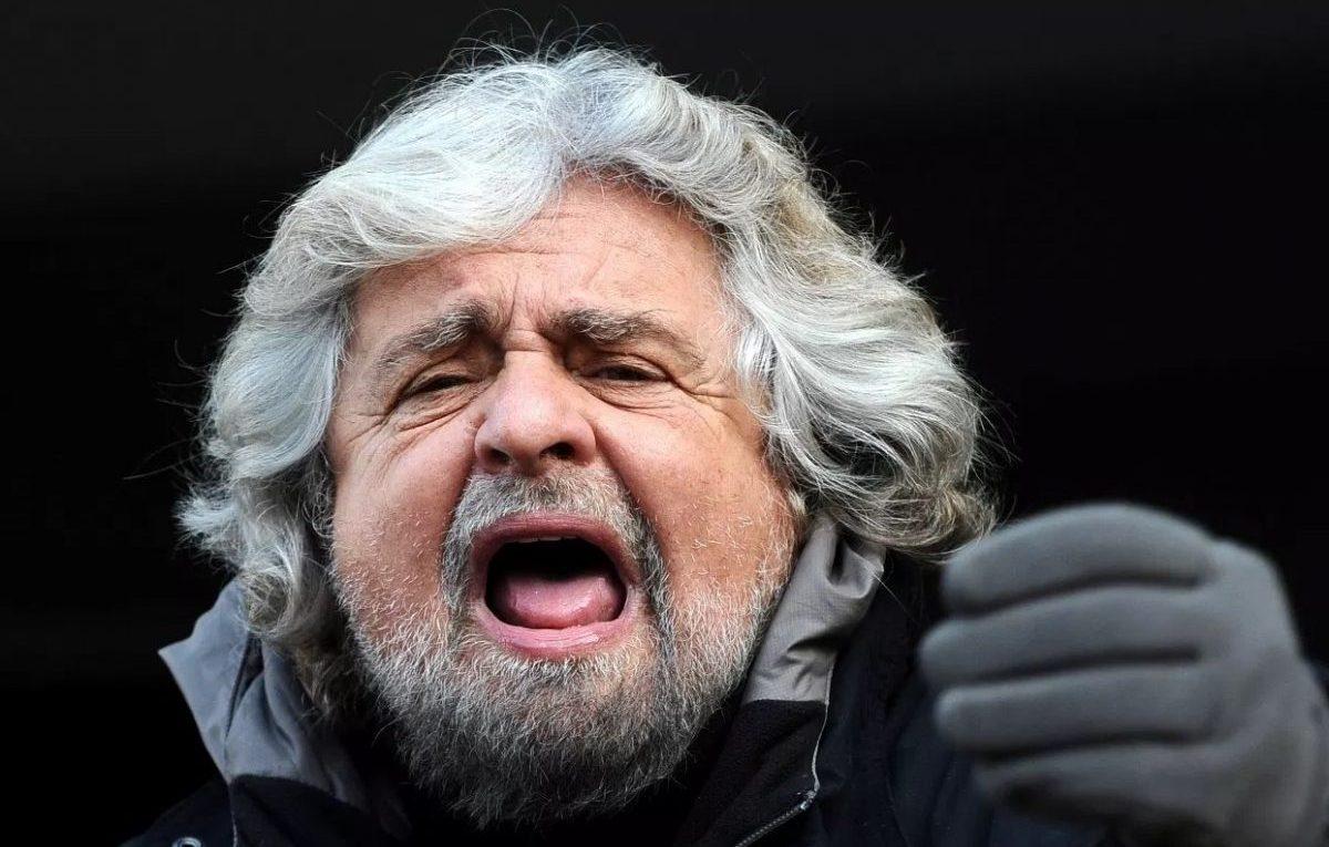 Beppe Grillo, foto Niccolò Caranti