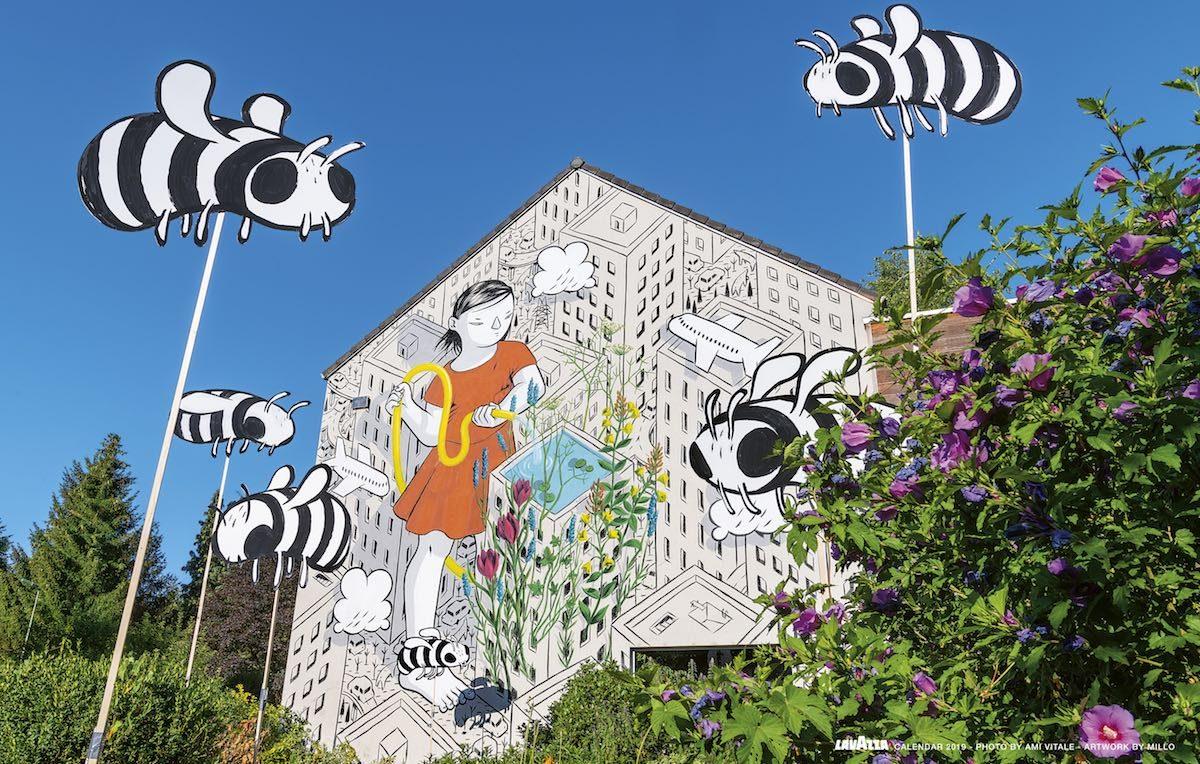 L'opera di Millo in Belgio