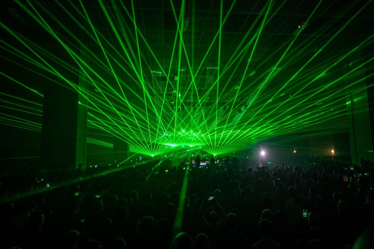 Aphex Twin al Club To Club. Foto di Andrea Macchia