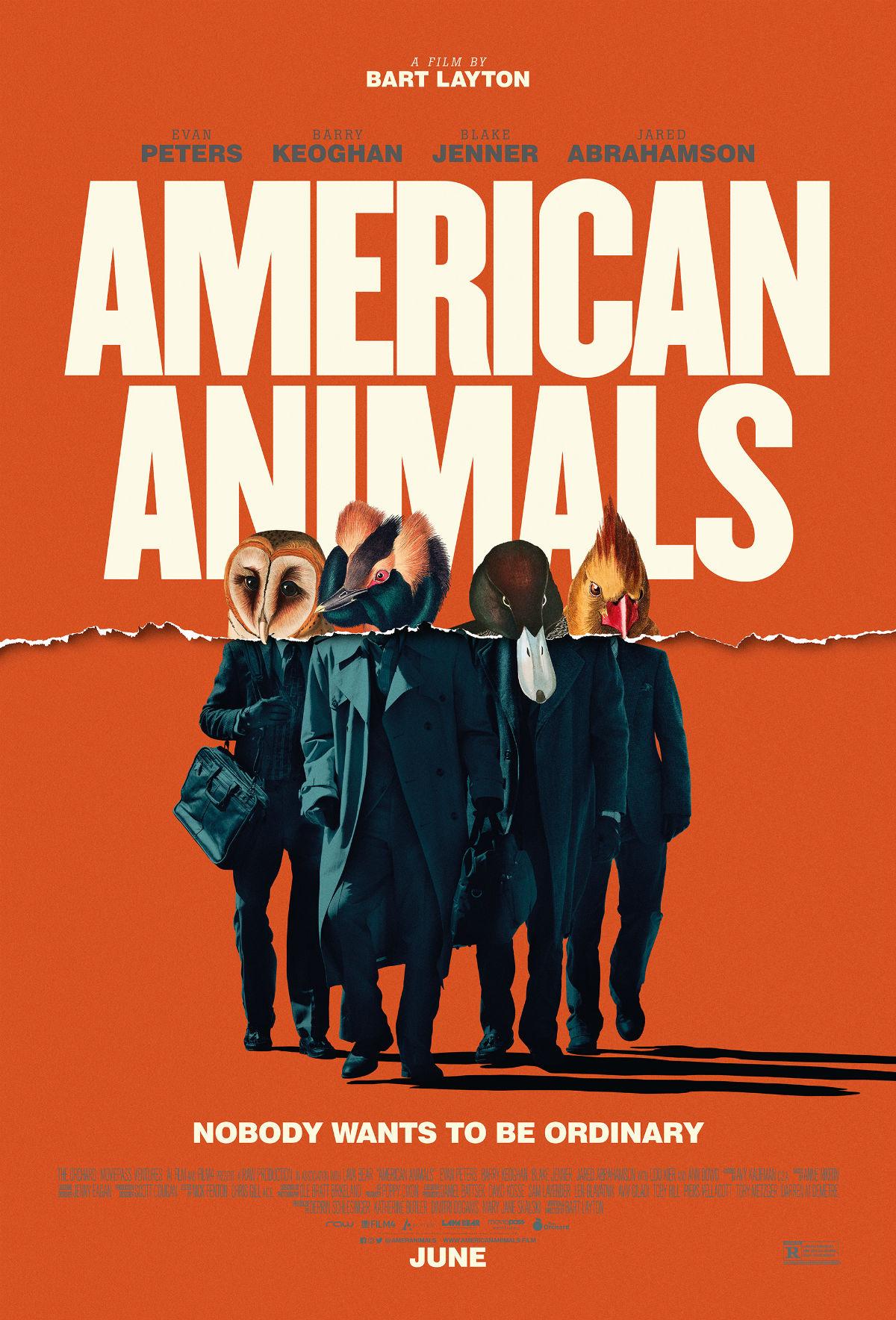 """La locandina di """"American Animals"""""""