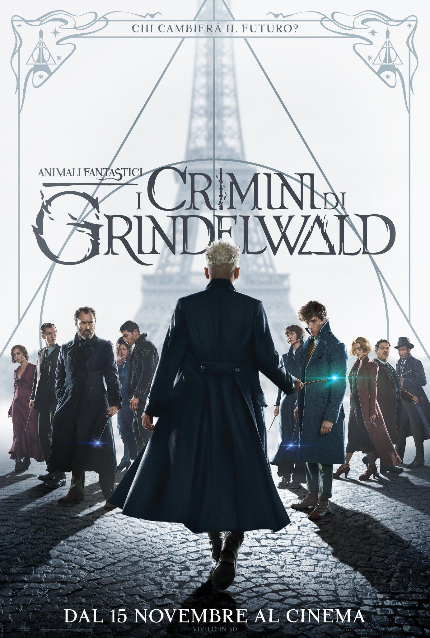 Animali Fantastici - I crimini di Grindelwald - David Yates