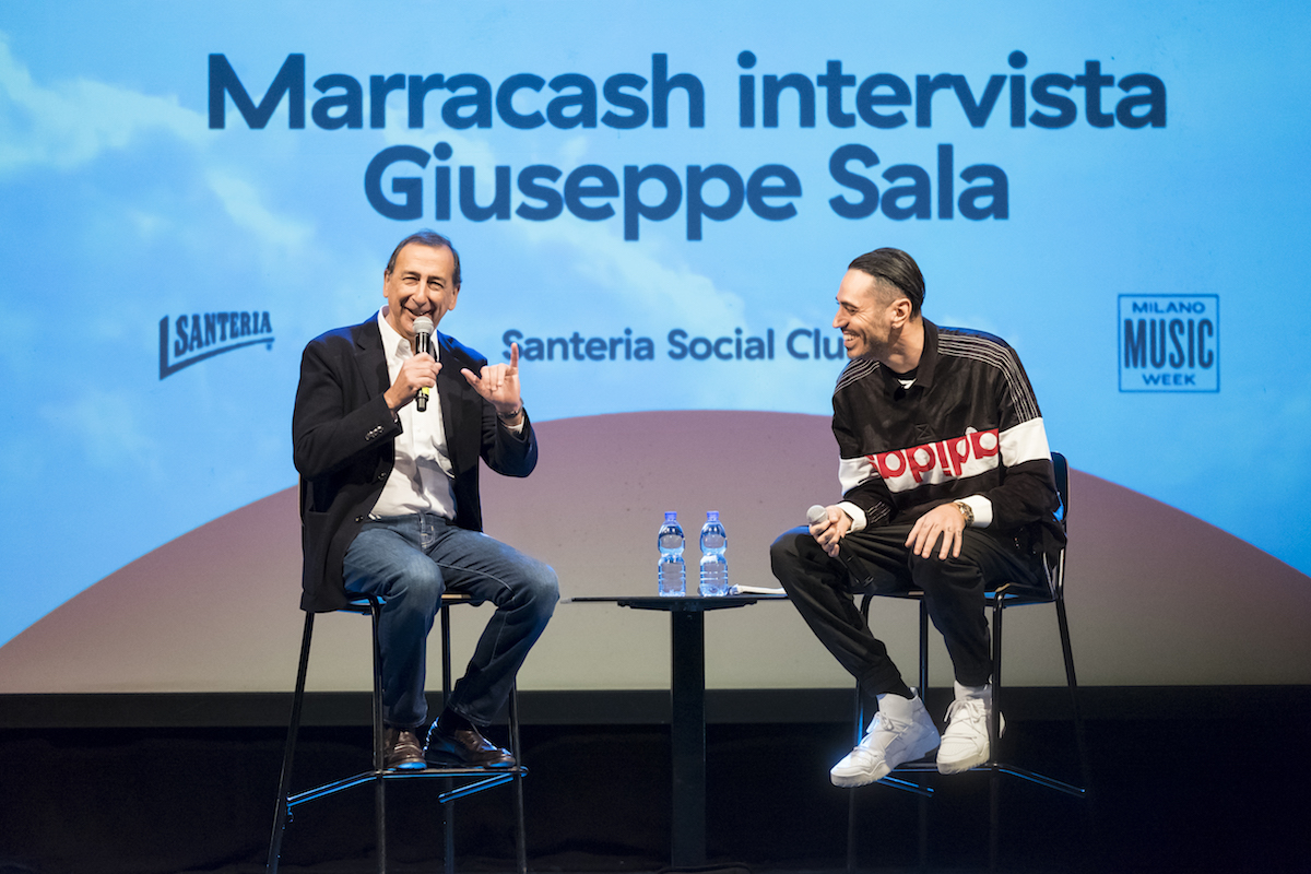 Beppe Sala Marracash