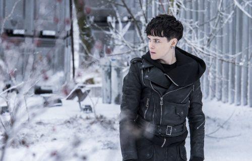 Claire Foy nei panni di Lisbeth Salander in 'Millenium - Quello che non uccide'.