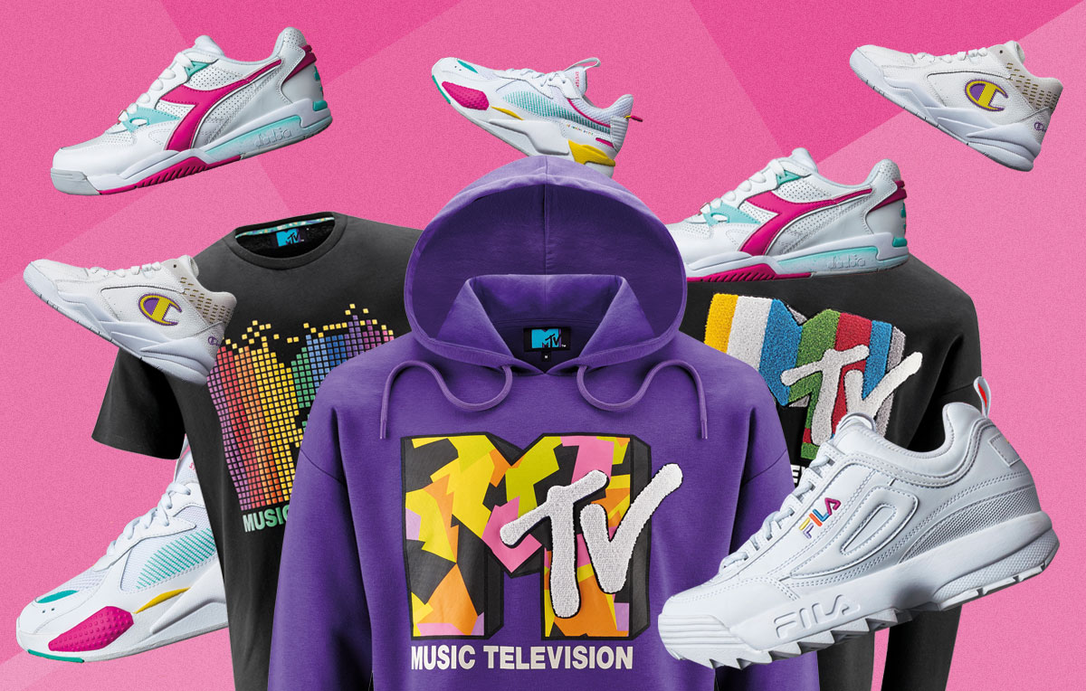 La collezione MTV, le sneakers esclusive e tante altre sorprese
