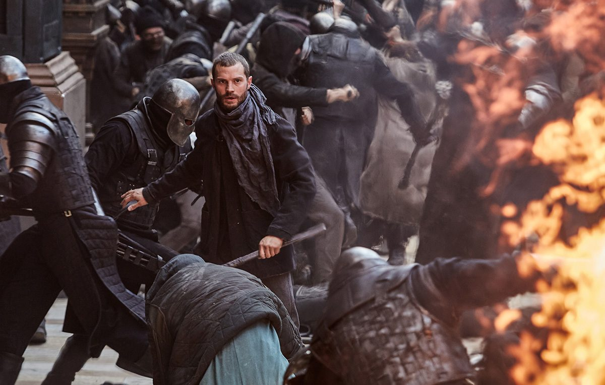 Jamie Dornan in 'Robin Hood'
