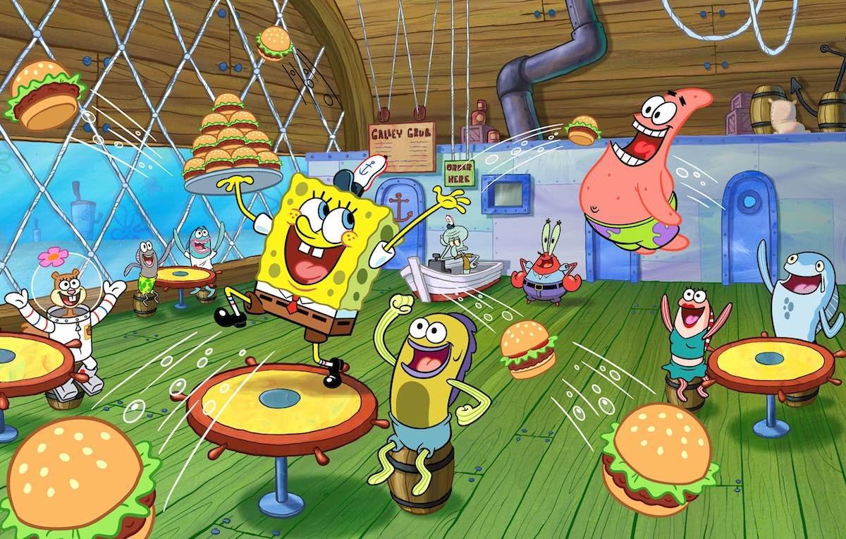 SpongeBob è stato trasmesso in Italia nel 2004