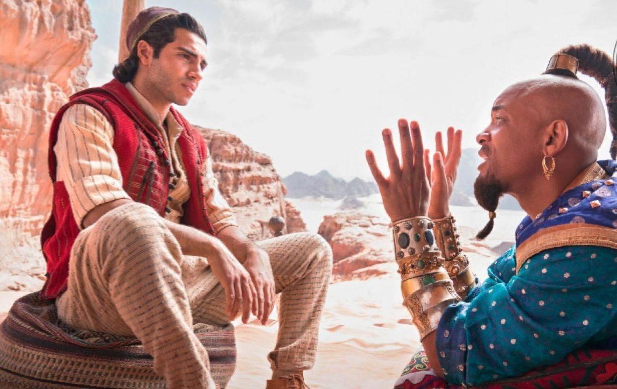 "Foto dal set di ""Aladdin"". Copyright: EW"