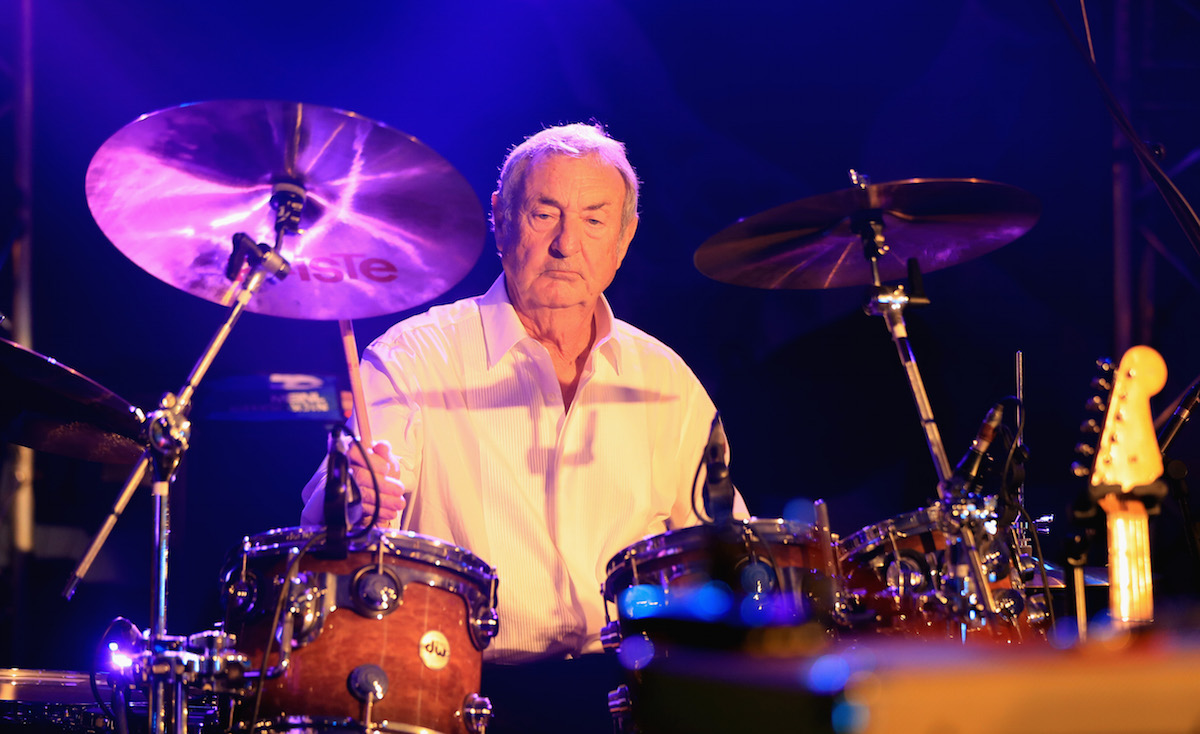 Nick Mason. Foto di Andrew Redington/Getty Images