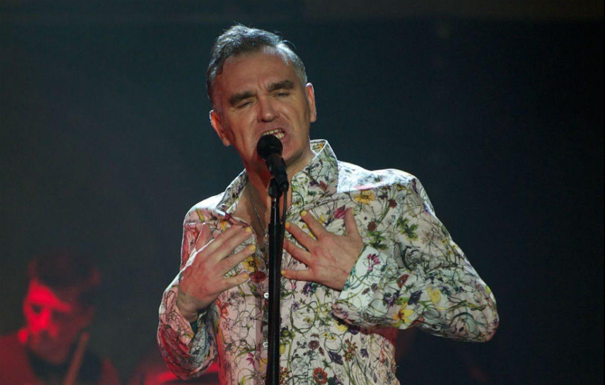 Morrissey ha annunciato un nuovo disco di cover