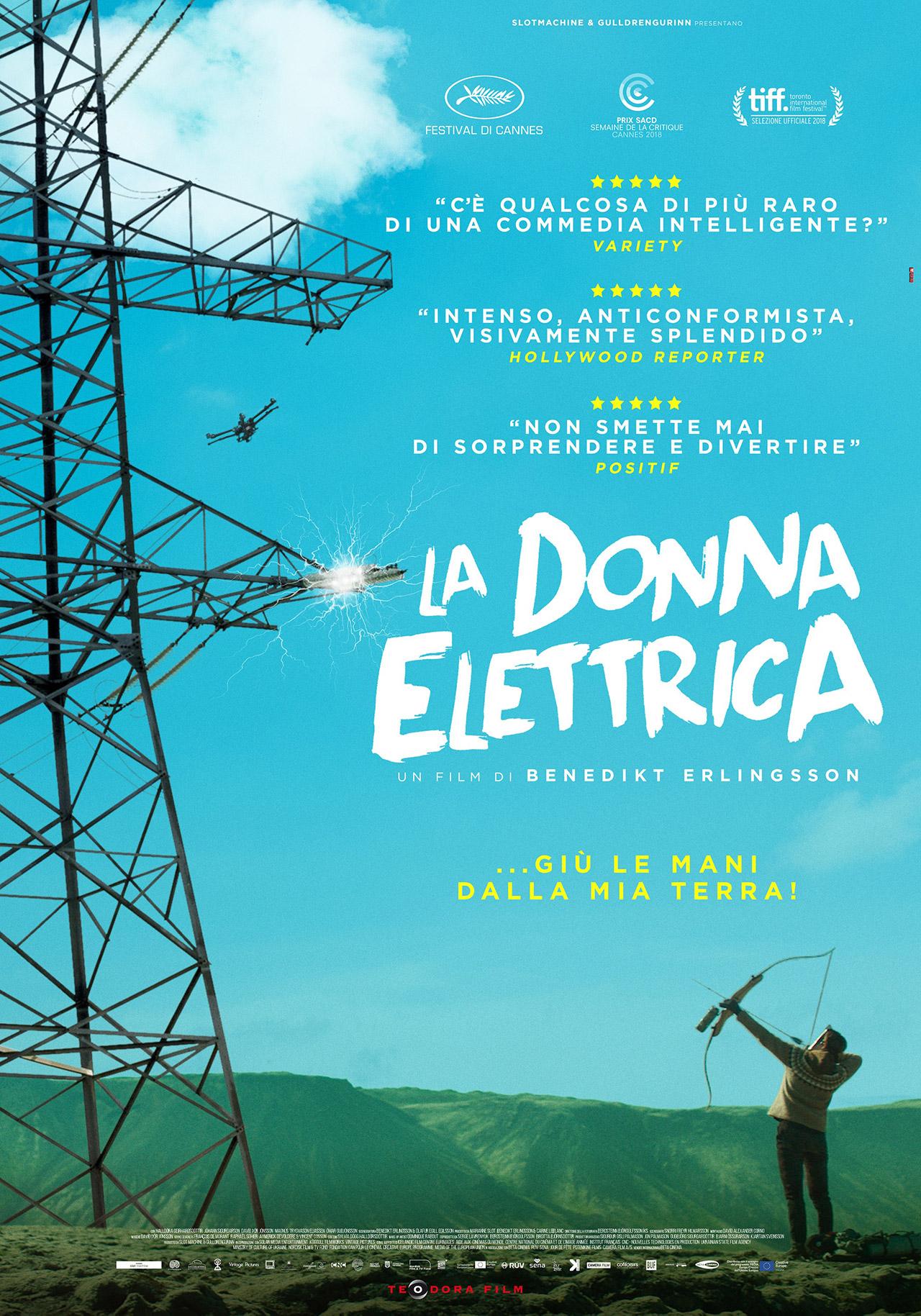 La donna elettrica  - Benedikt Erlingsson