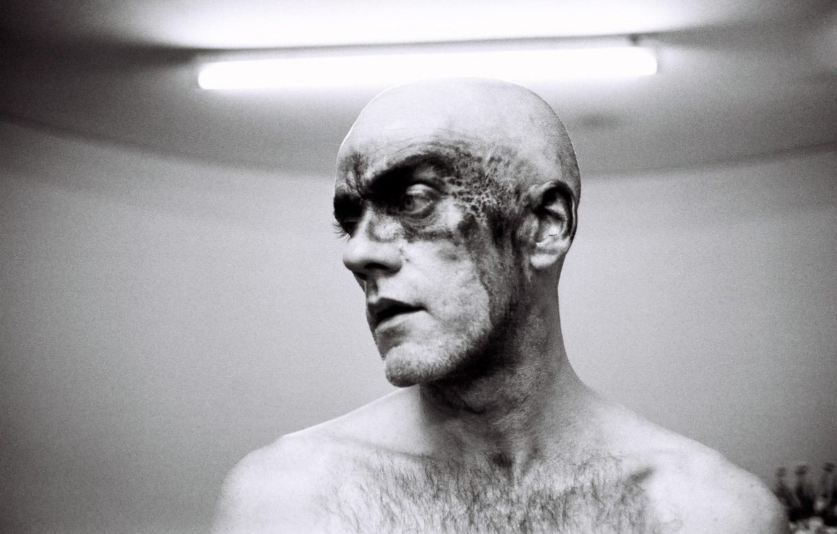 Michael Stipe fotografato da David Belisle. Foto via Facebook Ufficiale