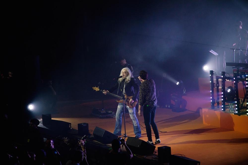 Il duetto con Morgan. Foto: Giulia Alloni