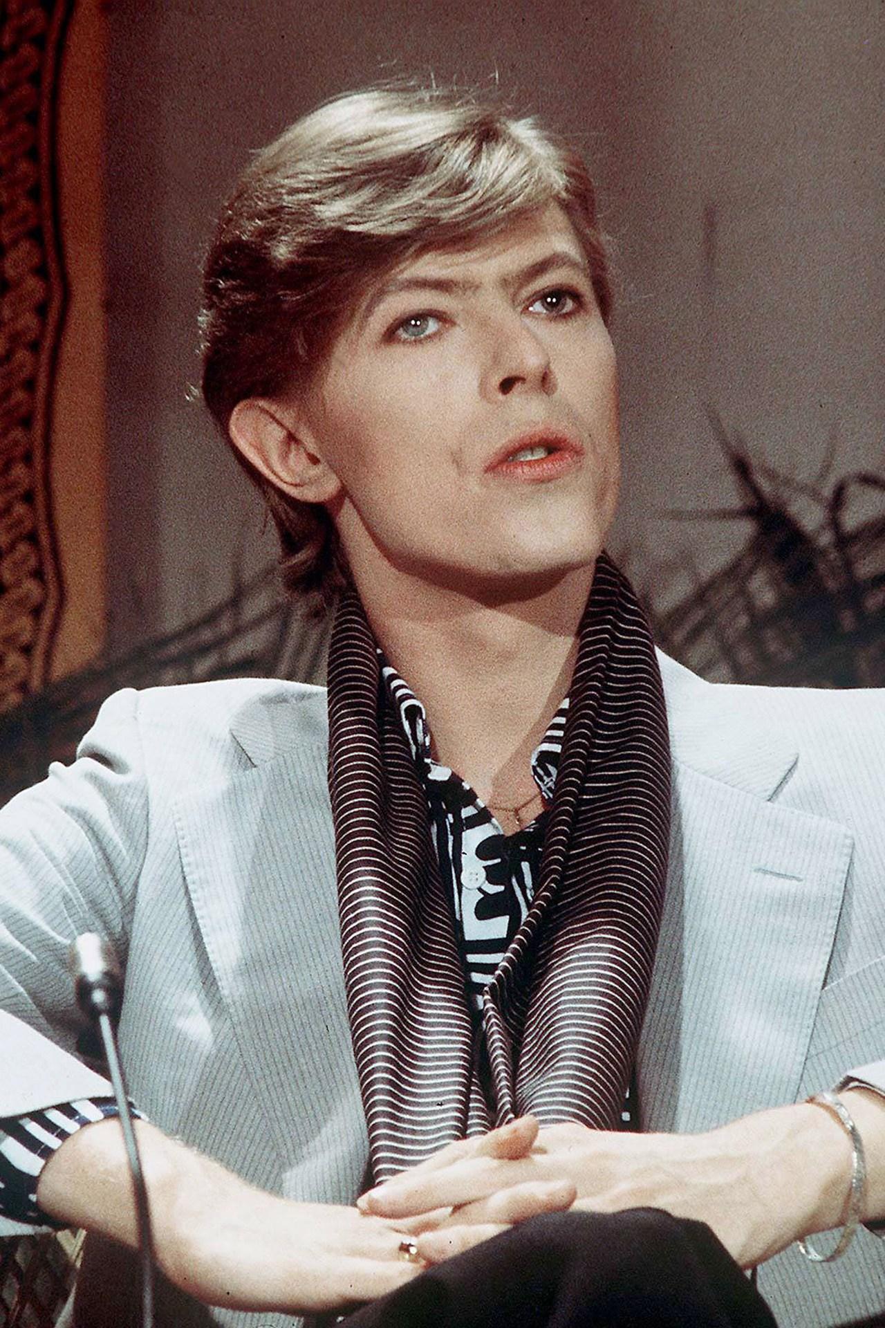Bowie nel suo periodo berlinese