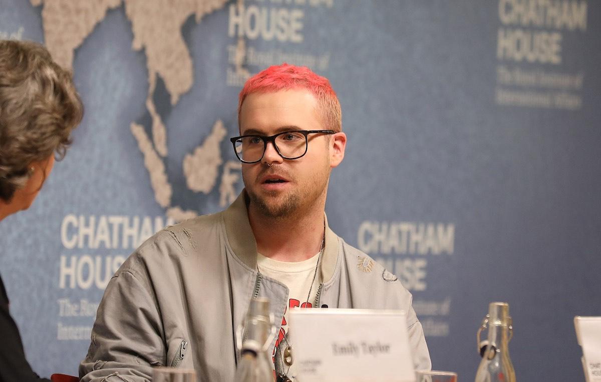 Christopher Wylie è nato nel 1989, sarà consulente del colosso