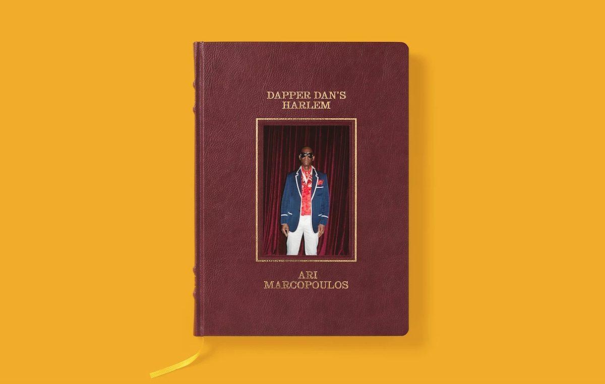 La copertina del libro realizzato da Gucci su Dapper Dan