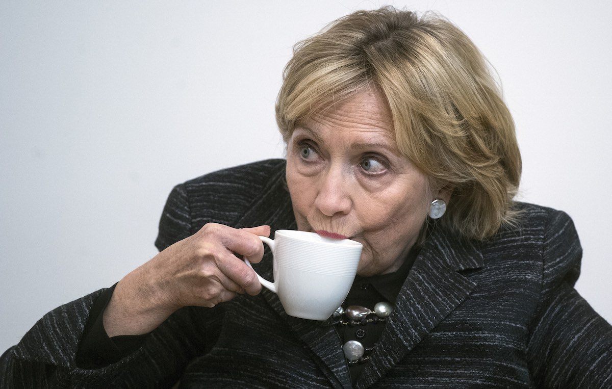 Hillary Clinton è stata sconfitta alle elezioni del 2016. Foto: Victoria Jones / PA Wire/PA Images / IPA