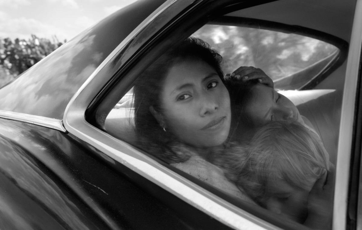 """Un'immagine tratta da """"Roma"""" di Alfonso Cuarón"""