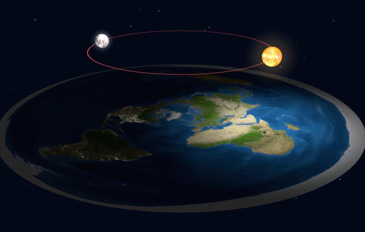 Un'immagine di come dovrebbe essere la Terra secondo il 2% degli statunitensi