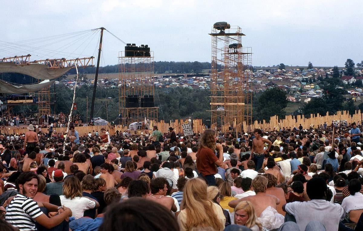 Un'immagine di Woodstock, nella sua prima versione